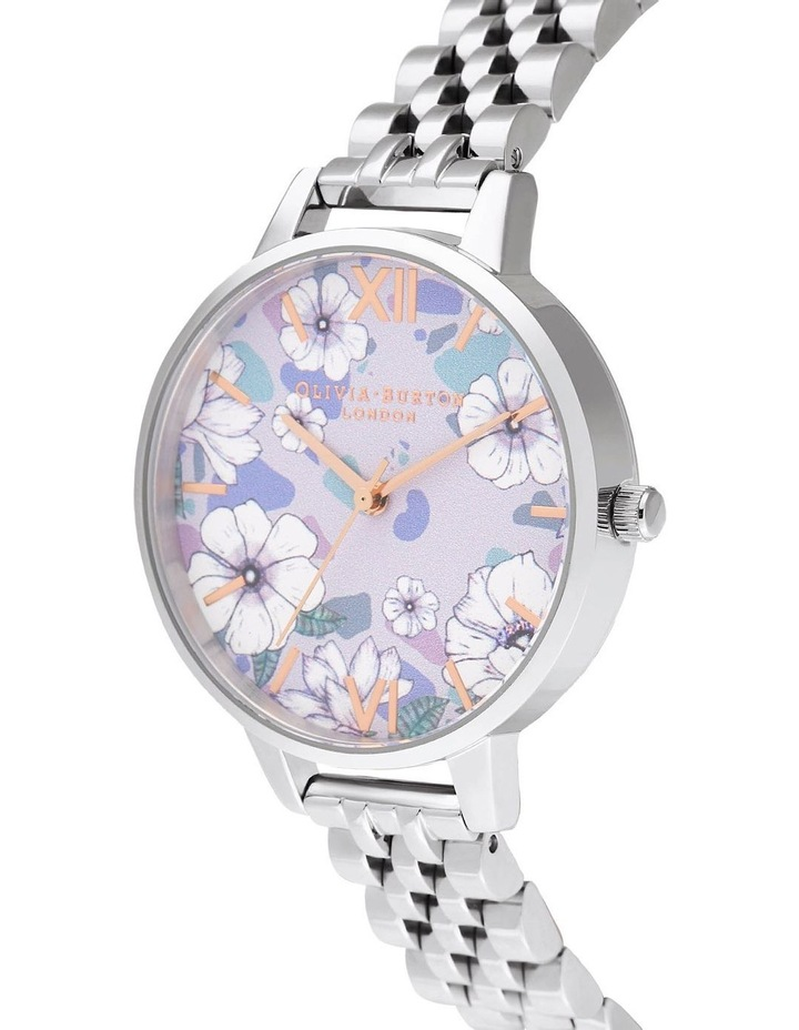OB16AN05 Groovy Blooms Rose Gold & Silver Bracelet Watch image 2