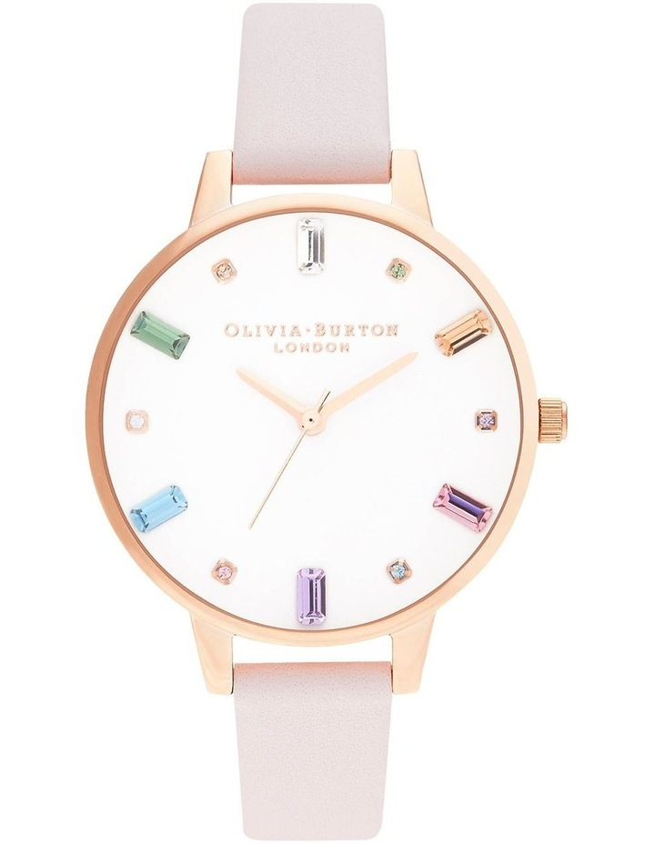 OB16RB22 Rainbow Blossom & Rose Gold Watch image 1