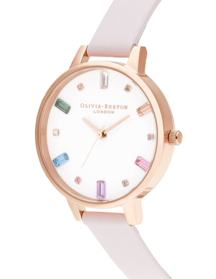 OB16RB22 Rainbow Blossom & Rose Gold Watch image 2