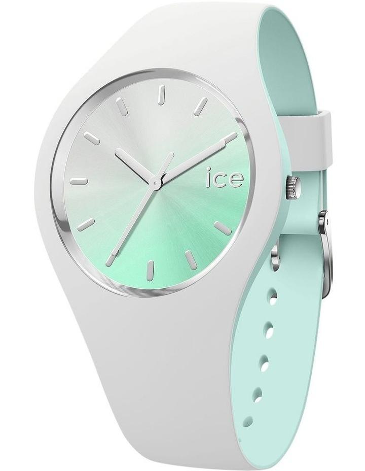 Duo Chic White Aqua Medium Watch image 1