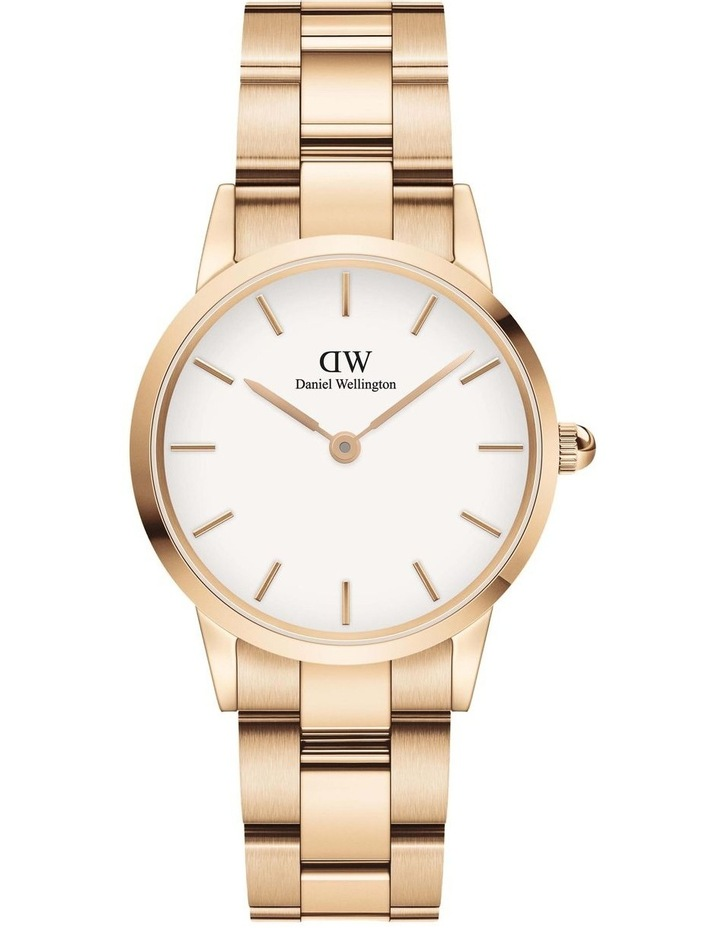 Iconic Link 28mm Rose Gold White Dial Watch image 1