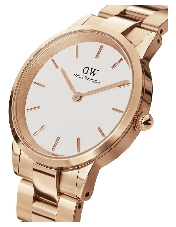 Iconic Link 28mm Rose Gold White Dial Watch image 2