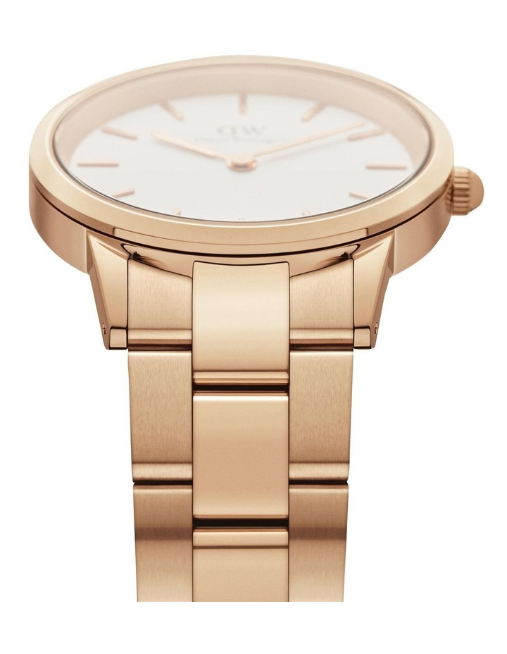 Iconic Link 28mm Rose Gold White Dial Watch image 3