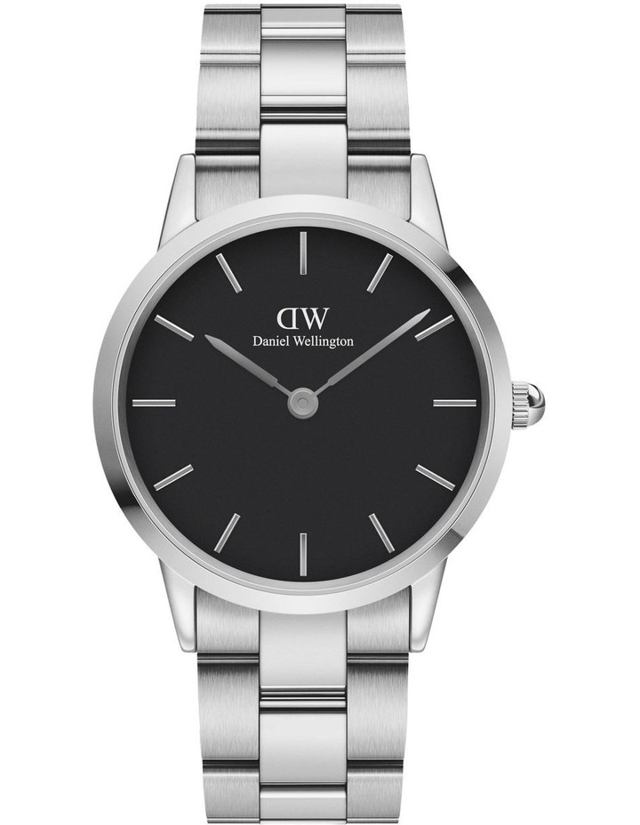 Iconic Link 36mm Silver Black Dial Watch image 1