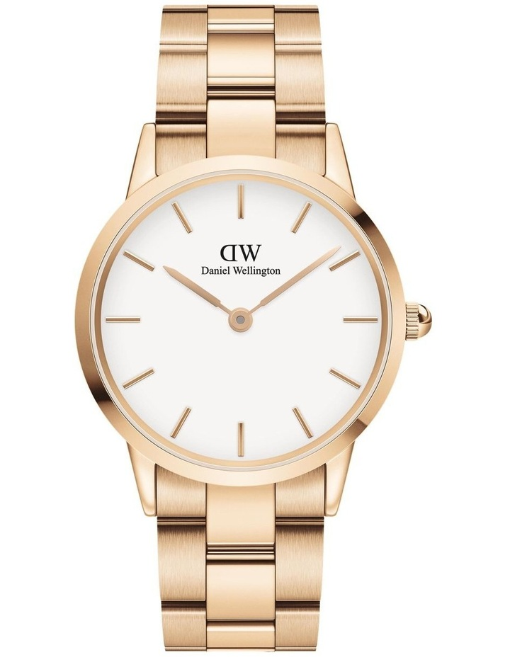 Iconic Link 36mm Rose Gold White Dial Watch image 1