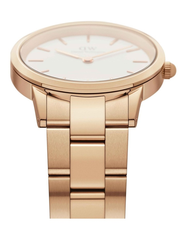 Iconic Link 36mm Rose Gold White Dial Watch image 3