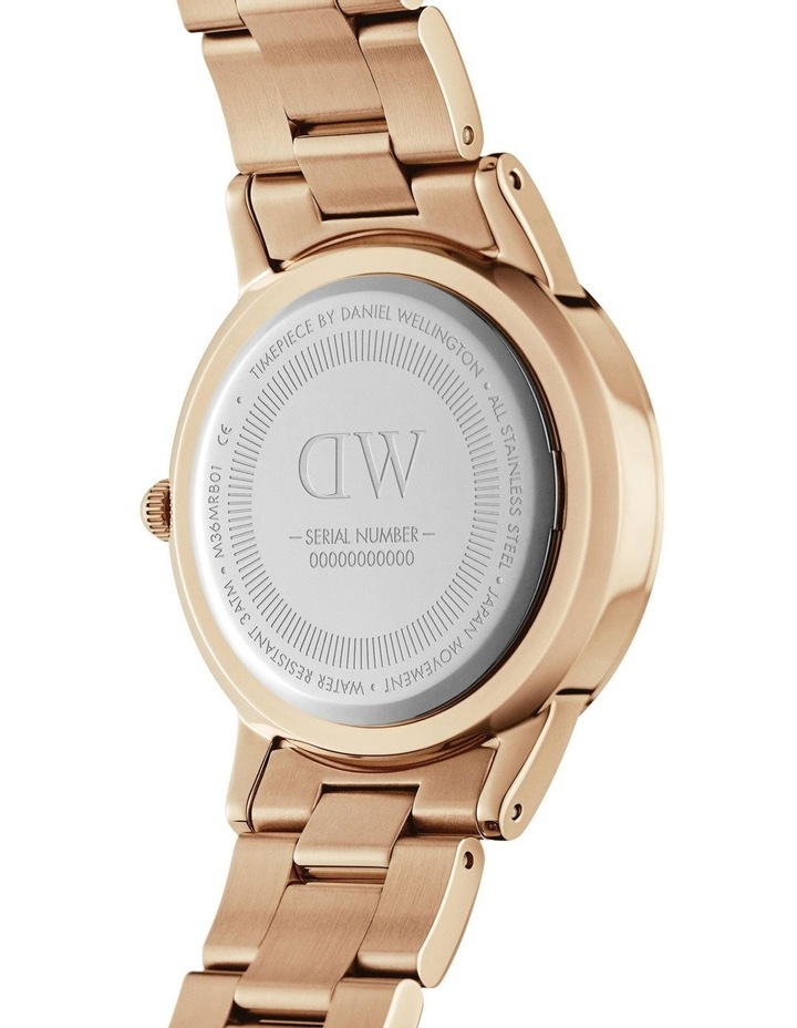 Iconic Link 36mm Rose Gold White Dial Watch image 4