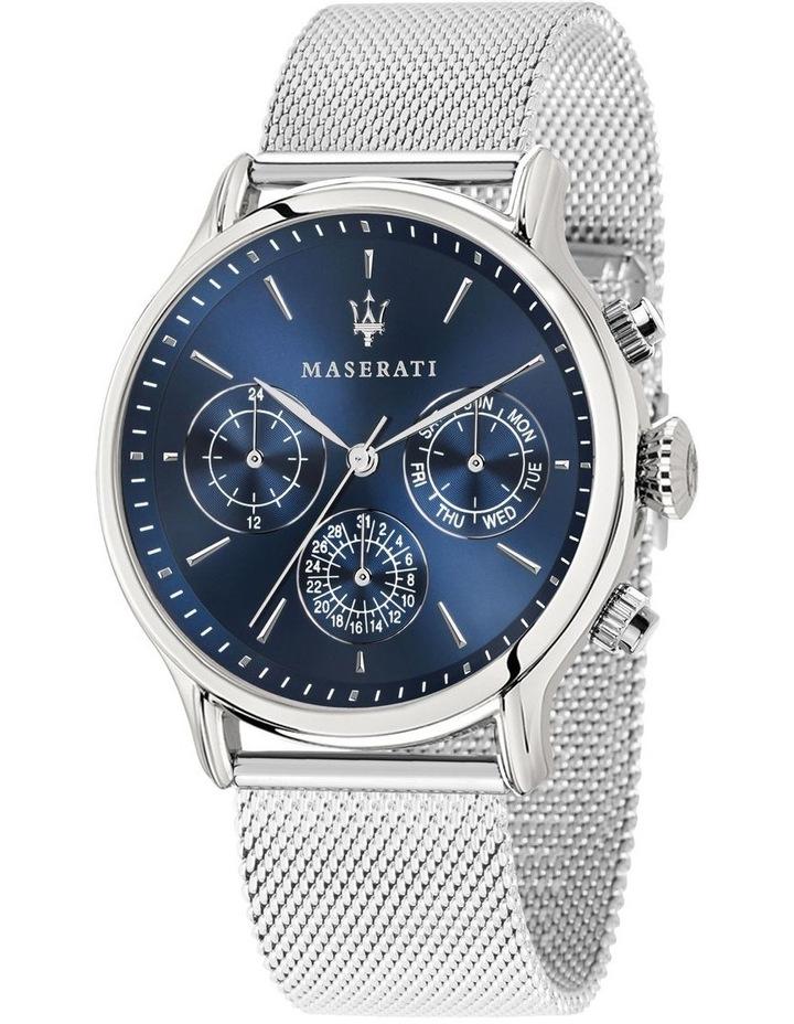 R8853118013 Epoca Silver Blue Watch image 1