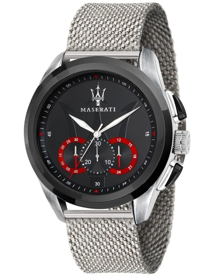 R8873612005 Traguardo Silver Black Watch image 1