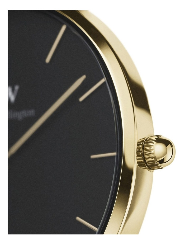 Petite 36 Evergold Black Dial Watch image 2