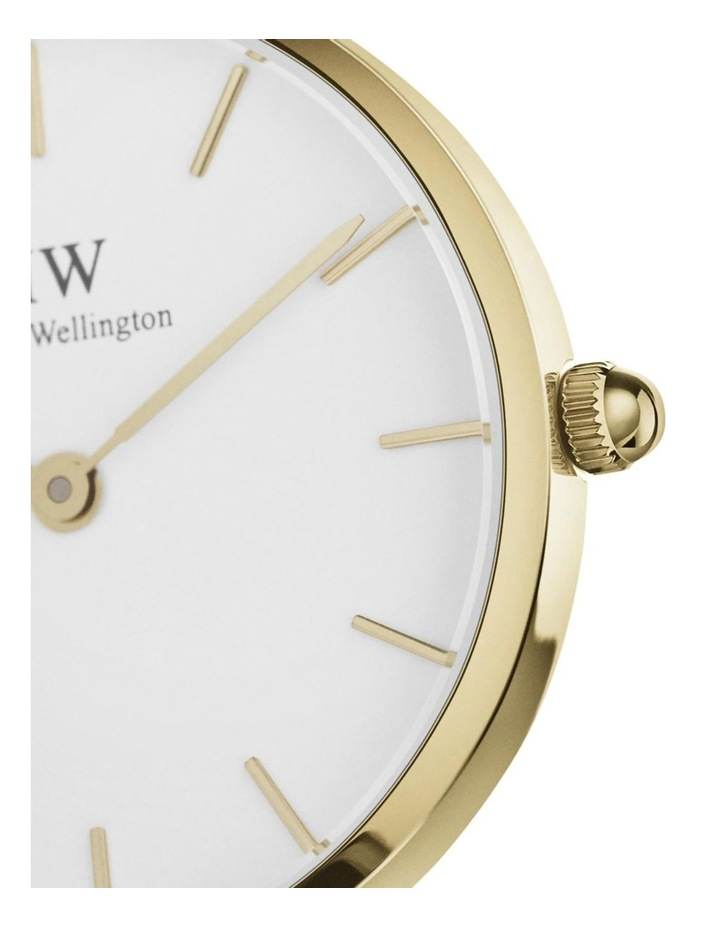 Petite 36 Evergold White Dial Gold Stainless Steel Quartz Watch image 2