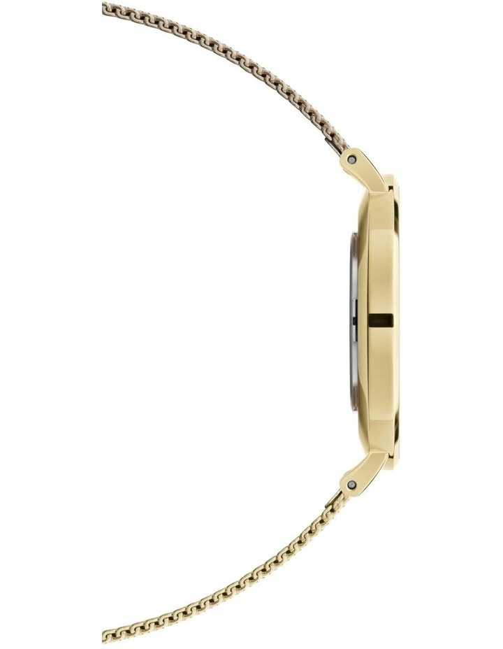 Petite 36 Evergold White Dial Gold Stainless Steel Quartz Watch image 4