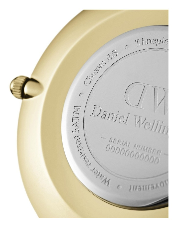 Petite 32 Evergold Black Dial Gold Stainless Steel Quartz Watch image 3