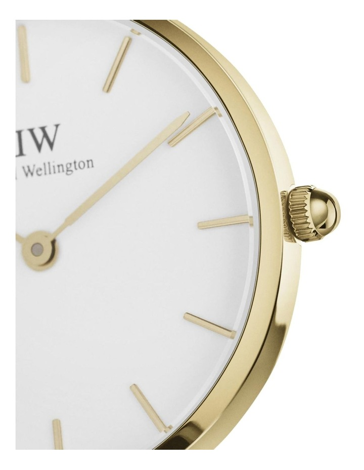 Petite 32 Evergold White Dial Gold Stainless Steel Quartz Watch image 2