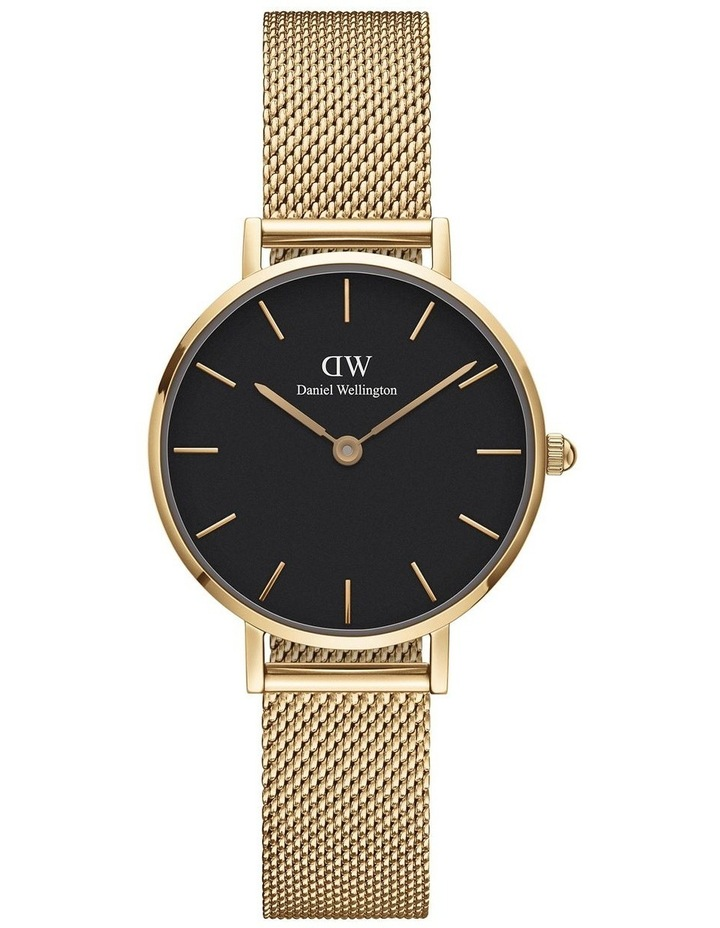 Petite 28 Evergold Black Dial Watch image 1