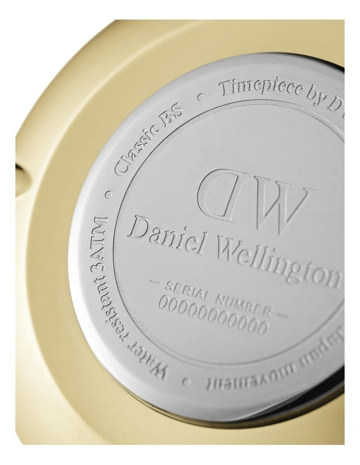 Petite 28 Evergold Black Dial Watch image 3