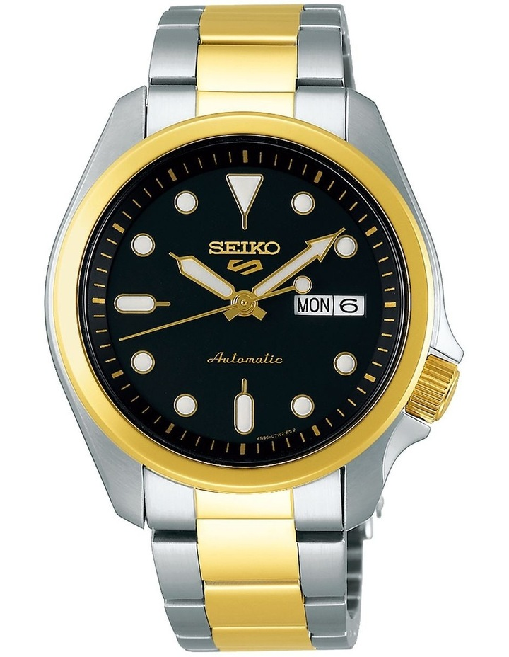 5 Sports Automatic SRPE60K Two Tone Watch image 1