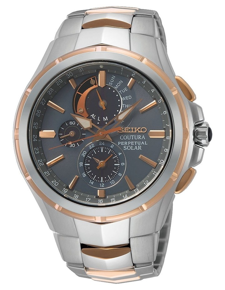 Coutura SSC788P Solar Perpetual Chronograph Watch image 1