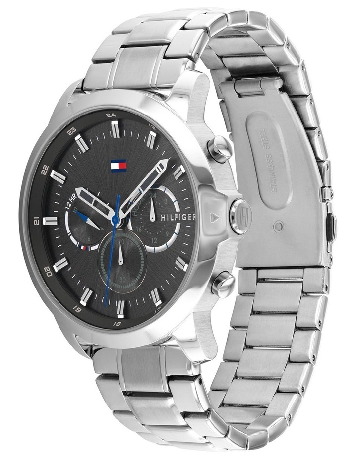 Tommy Hilfiger Stainless Steel Men's Multi-function Watch - 1791794 image 2