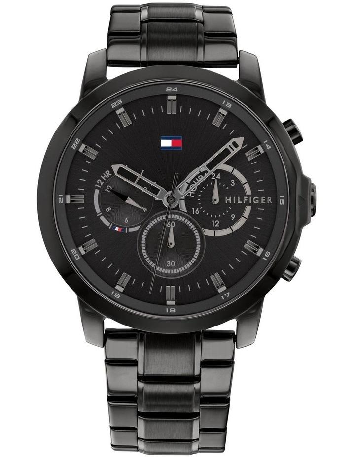 Tommy Hilfiger Black Steel Men's Multi-function Watch - 1791795 image 1