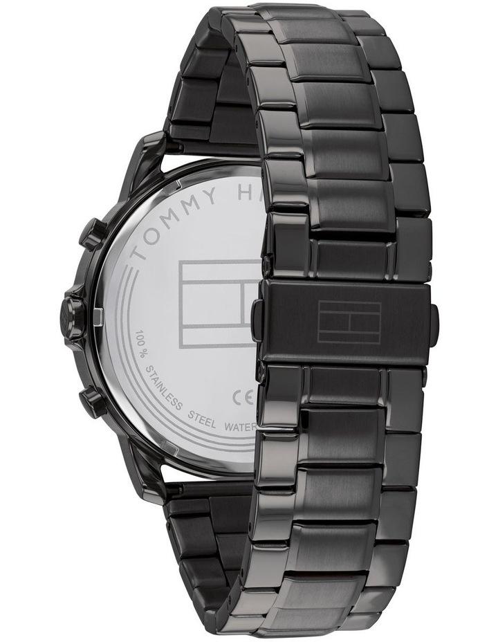 Tommy Hilfiger Black Steel Men's Multi-function Watch - 1791795 image 3