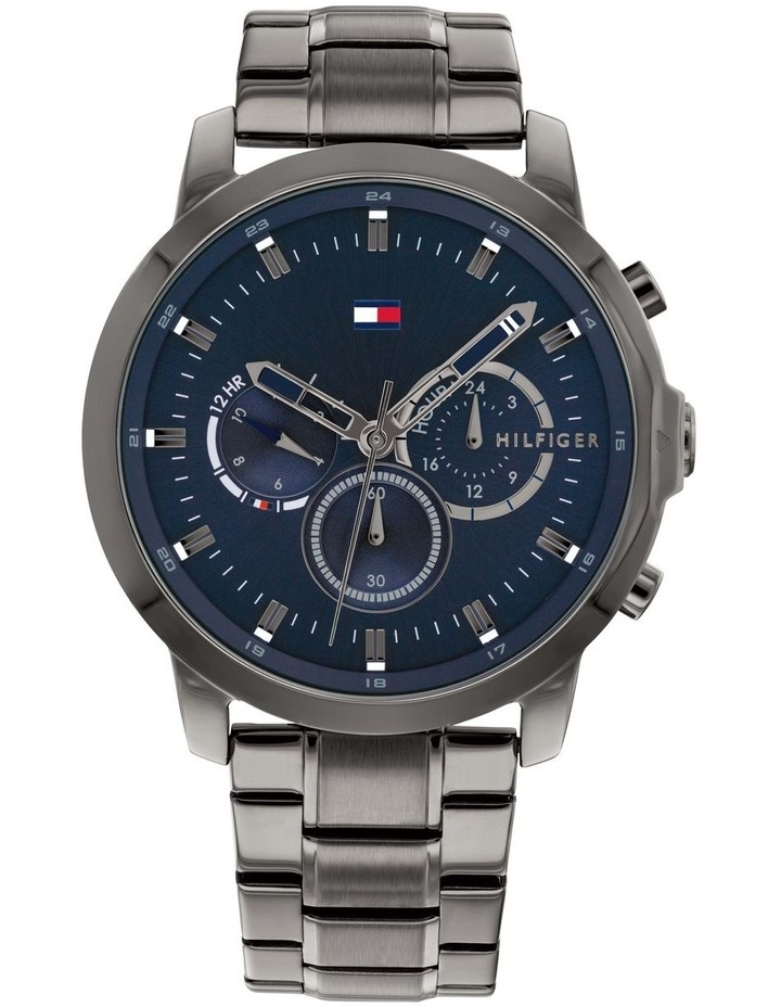 Tommy Hilfiger Grey Steel Men's Multi-function Watch - 1791796 image 1