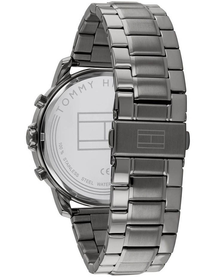 Tommy Hilfiger Grey Steel Men's Multi-function Watch - 1791796 image 3