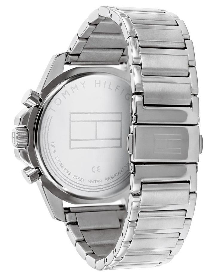 Tommy Hilfiger Mason Silver Steel Men's Multi-function Watch - 1791788 image 3