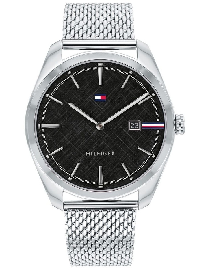 Tommy Hilfiger Silver Mesh Men's Watch - 1710425 image 1