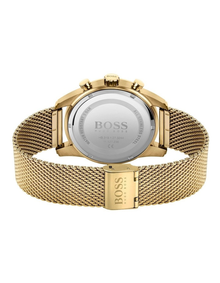 Hugo Boss Skymaster Gold Mesh Men's Chrono Watch - 1513838 image 3