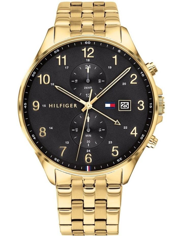 Multi-Function IP Gold Men's Watch image 1
