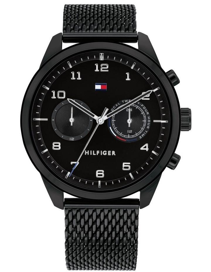 Multi-function IP Black Men's Watch image 1