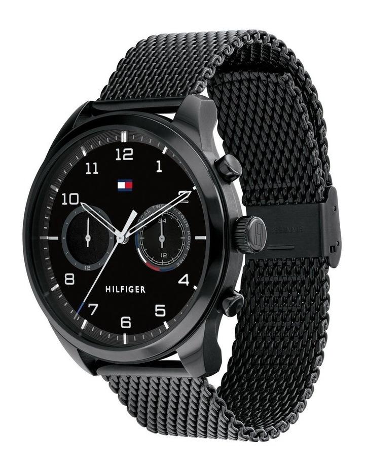 Multi-function IP Black Men's Watch image 2