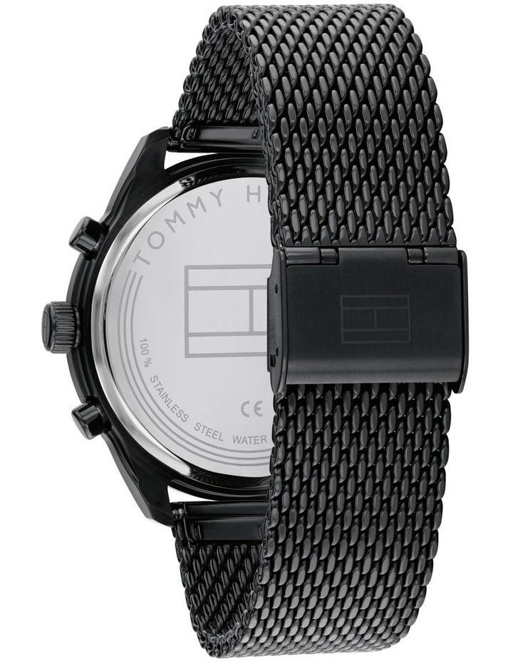 Multi-function IP Black Men's Watch image 3