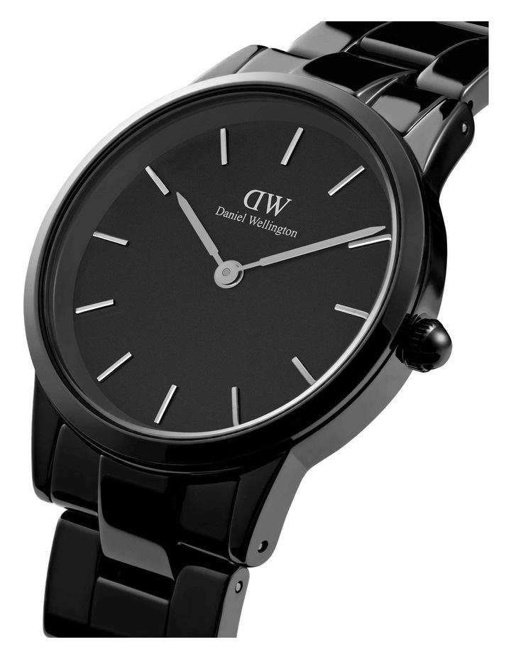 Iconic 32 B Black Ceramic Analog Watch image 2