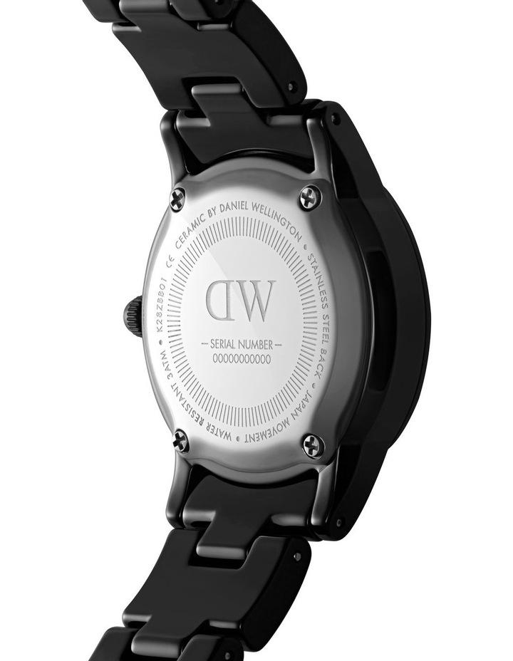 Iconic 28 B Black Ceramic Analog Watch image 3