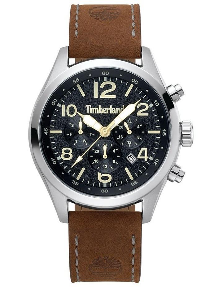 Timberland Ashmont Dark Brown Leather Strap Watch image 1