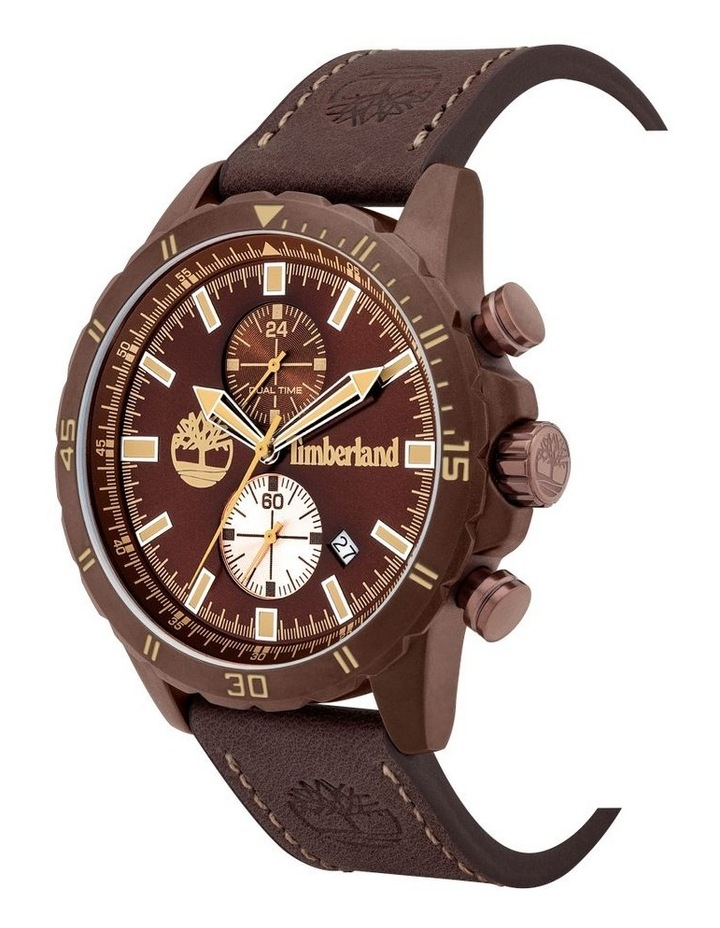 Timberland Dunford Brown Leather Watch image 2