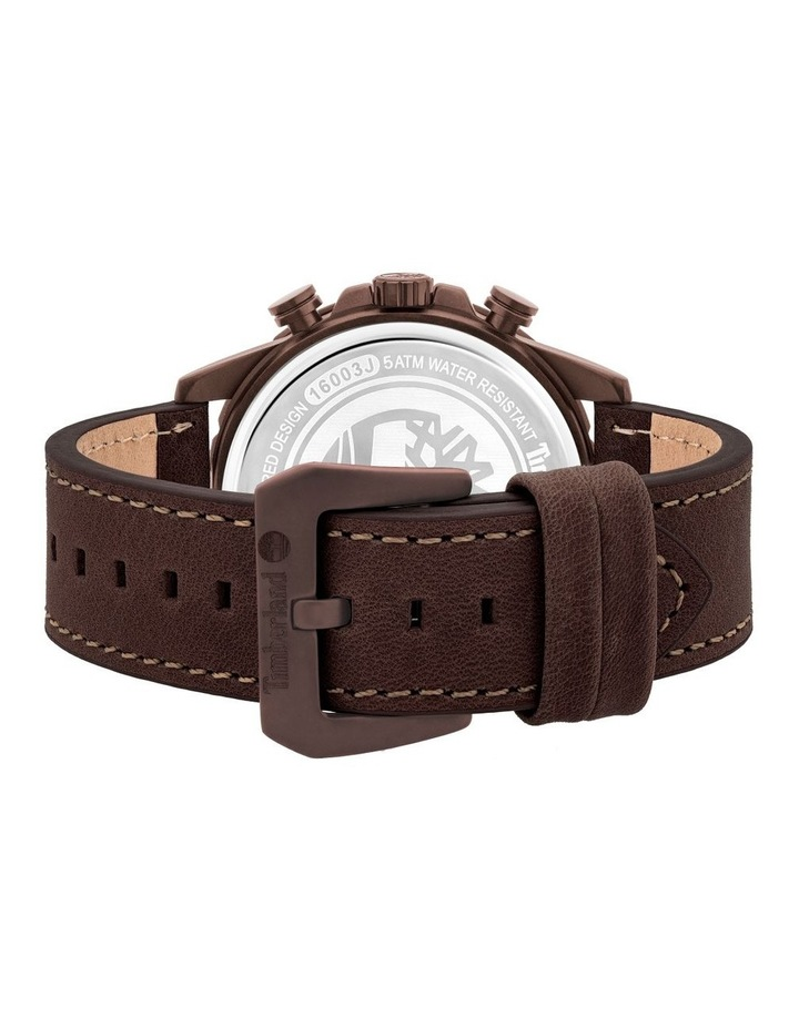 Timberland Dunford Brown Leather Watch image 3
