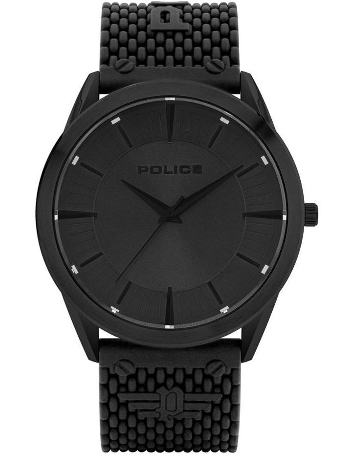 Police Patriot Black Case Black Dial Watch image 1