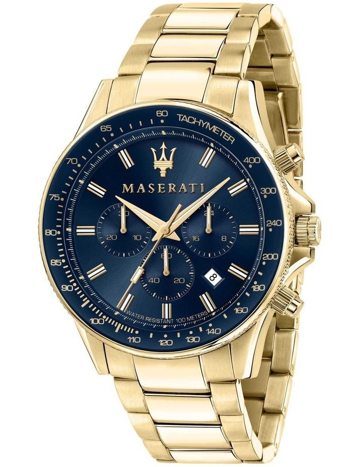 Sfida Chrono Gold Bracelet Watch image 1