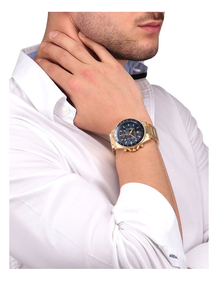 Sfida Chrono Gold Bracelet Watch image 2