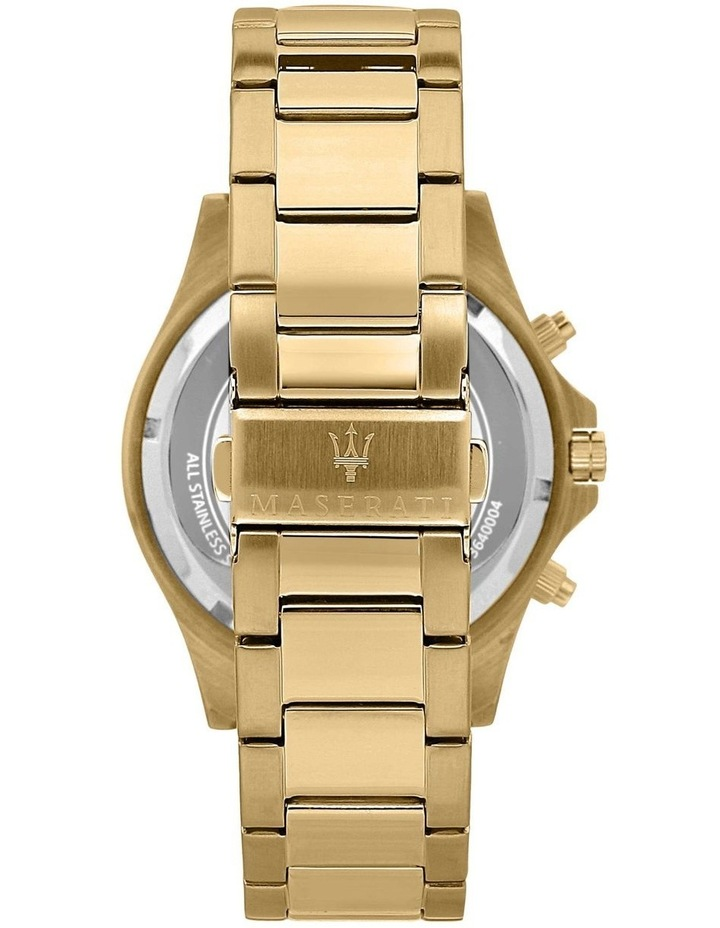 Sfida Chrono Gold Bracelet Watch image 3
