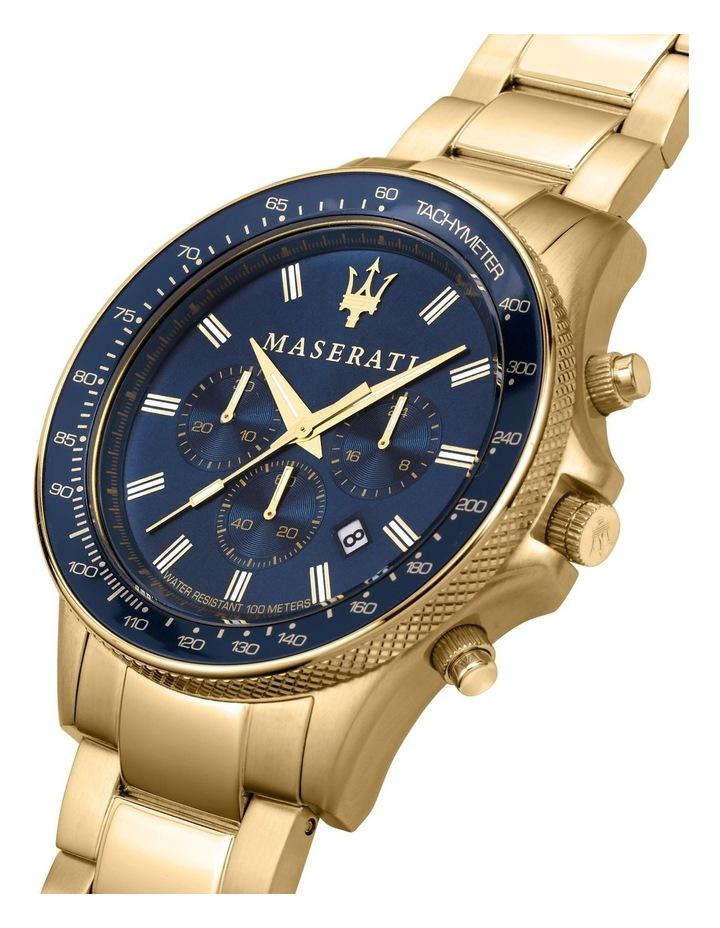 Sfida Chrono Gold Bracelet Watch image 5