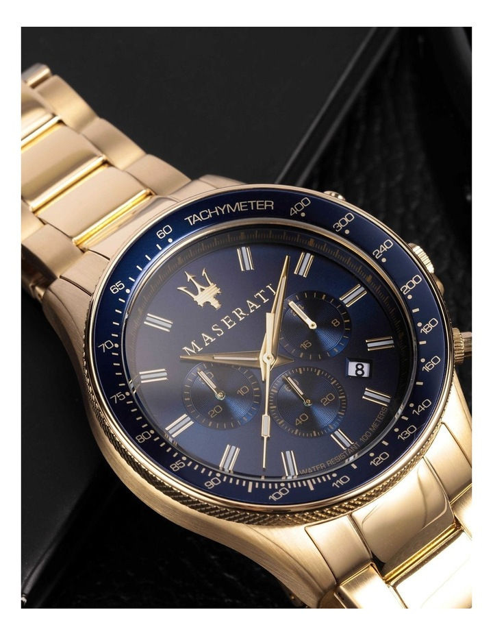 Sfida Chrono Gold Bracelet Watch image 6