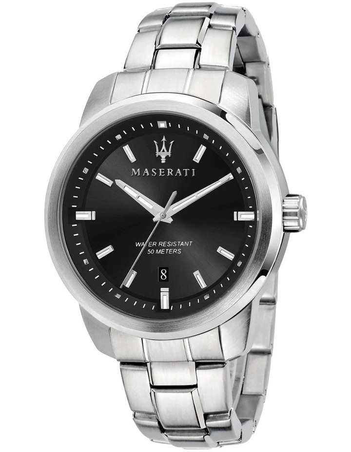 Successo Silver Stainless Steel Sport Watch image 1