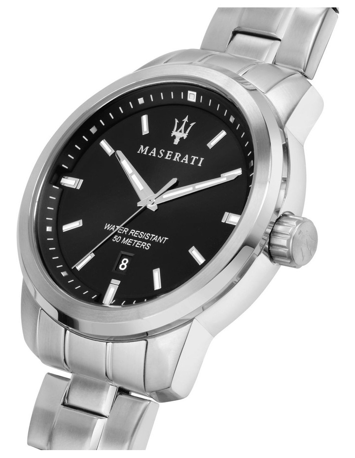 Successo Silver Stainless Steel Sport Watch image 5
