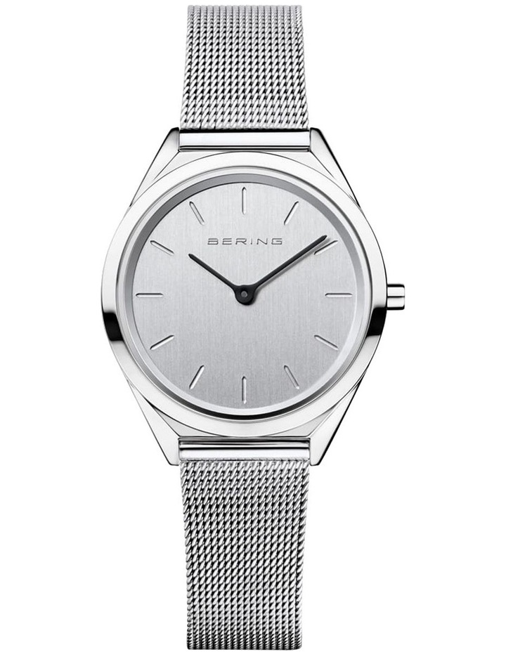 Ultra Slim Collection Silver Silver Milanese Stainless Steel Analog Watch 17031-000 image 1