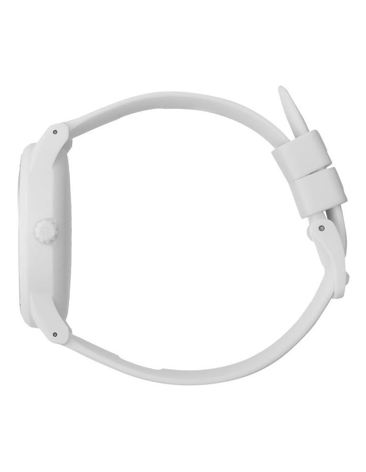 Solar Power Polar Medium White Silicone Solar Watch image 3
