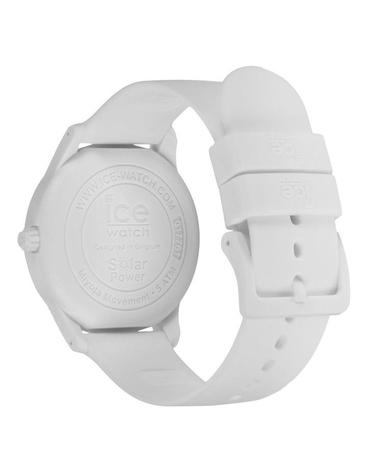 Solar Power Polar Medium White Silicone Solar Watch image 4
